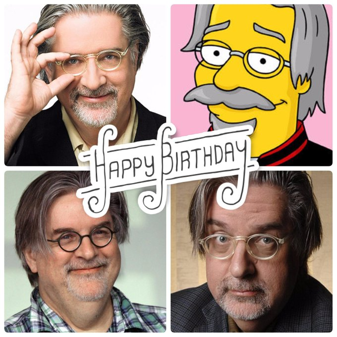 Happy Birthday, Matt Groening!!  Where would we be without
