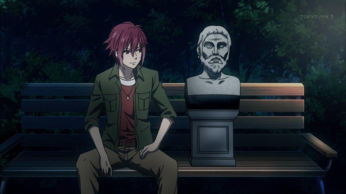 石膏ボーイズでしかないんだよなあ…w #marginal4 #mg4_anime