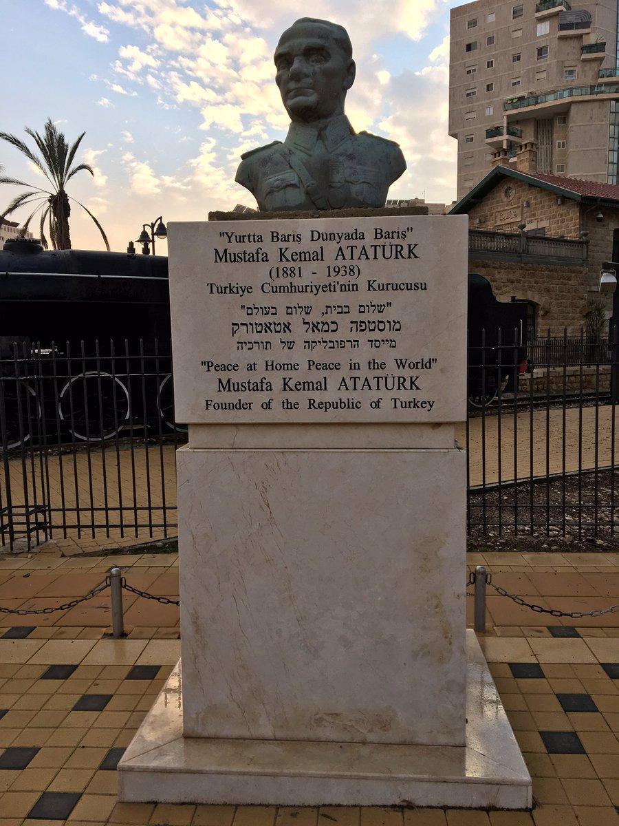 Burası İsrail.. Beer Sheva.. Mustafa Kemal Atatürk Meydanı.. https://t.co/w4iegipMfZ