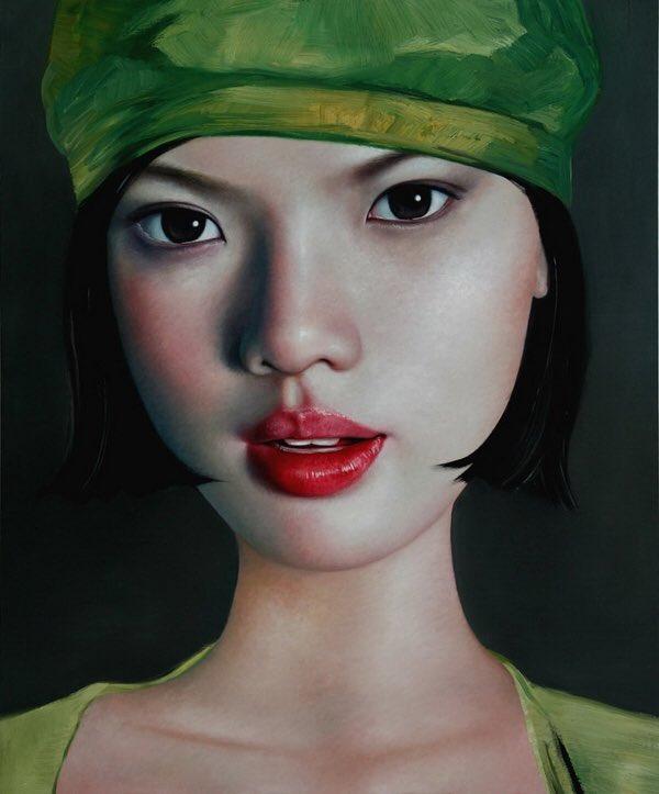 🌿Ling Jian  Artiste peintre chinois né en 1963 https://t.co/hKYELVfKfN