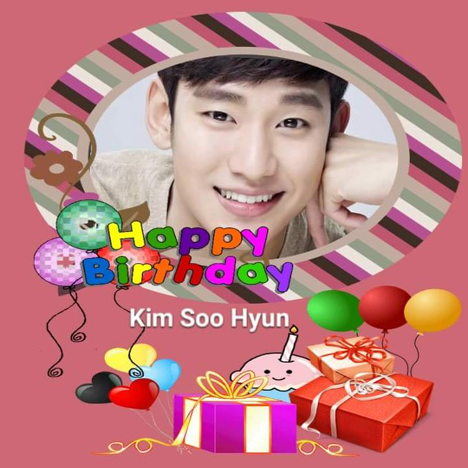 Happy birthday to the handsome &talented Kim Soo hyun!