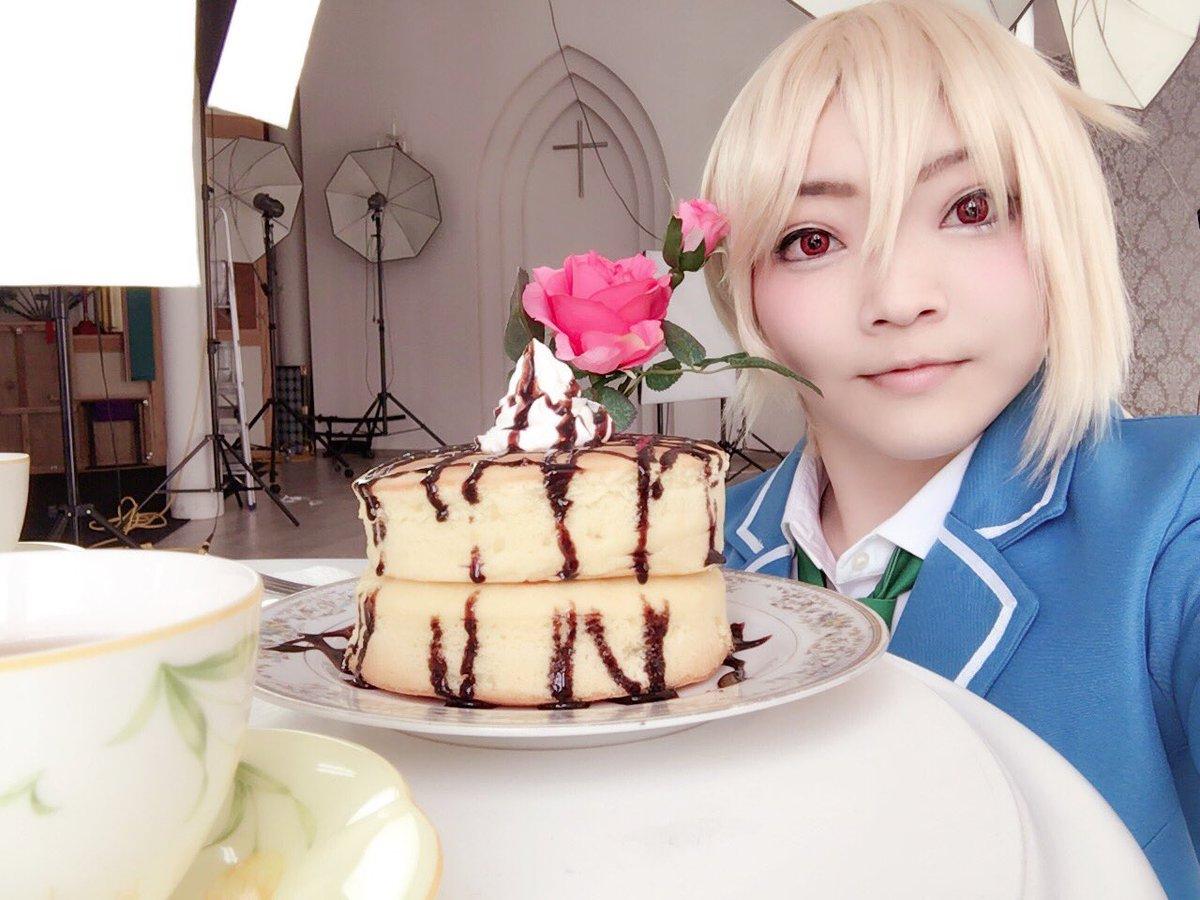 ささみさんとラブラブ薫なず撮影してきました~♡♡ささみさんありがとうございました!めっちゃ甘い物食べた🍴