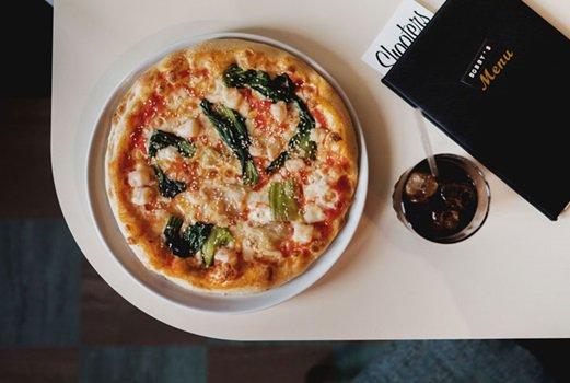 The Hawaiian pizza at Bobby Fitzpatrick London's Best Retro Dishes