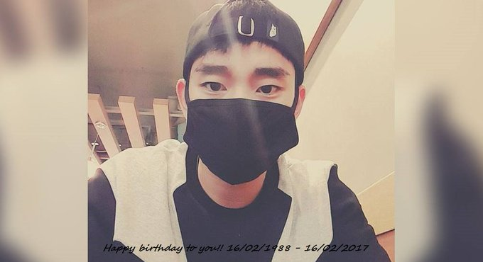 Happy birthday to you, Kim Soo Hyun