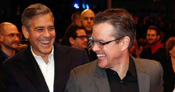 Matt Damon, like the rest of the world, never thought George Clooney would have kids: