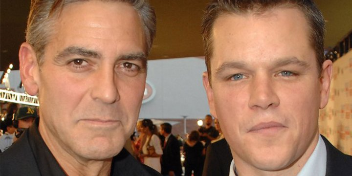 Why Matt Damon can't offer George Clooney much parenting advice