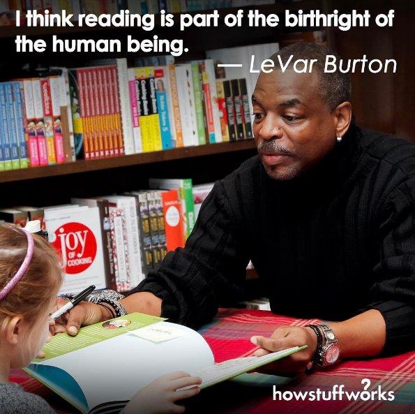 Happy Birthday, LeVar Burton!  source: