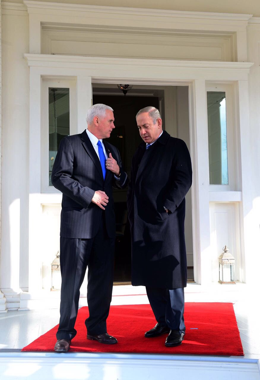An excellent meeting with @VP Mike Pence – a true friend of Israel! https://t.co/XMp2gVOOD2