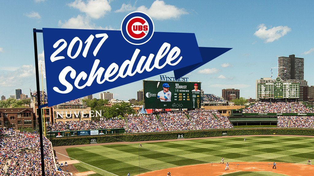 Tune in! Our 2017 regular season television broadcast schedule has been released: https://t.co/i6o4BWPYt7 https://t.co/KKH0Lnx2Lo