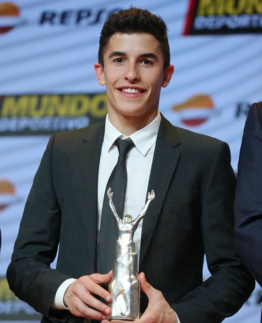 Beautiful smile.. I like your big smile baby     Happy birthday marc marquez