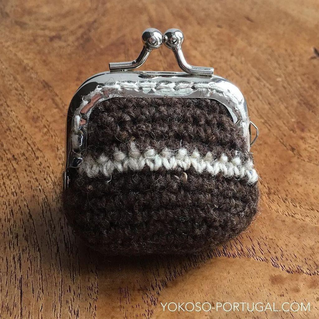 test ツイッターメディア - エストレラ山脈のウールの毛糸で編まれたかわいいコインケース。 #ポルトガル https://t.co/3VqTxlw0Cy