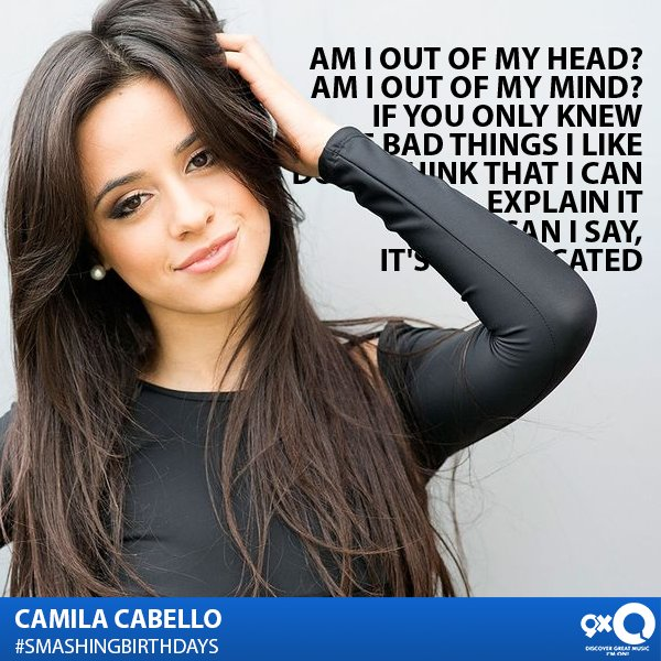 Happy Birthday Camila Cabello! She\s clearly working on her solo debut & we\re all waiting for it! to wish her!
