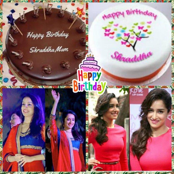 Happy birthday shraddha kapoor.........