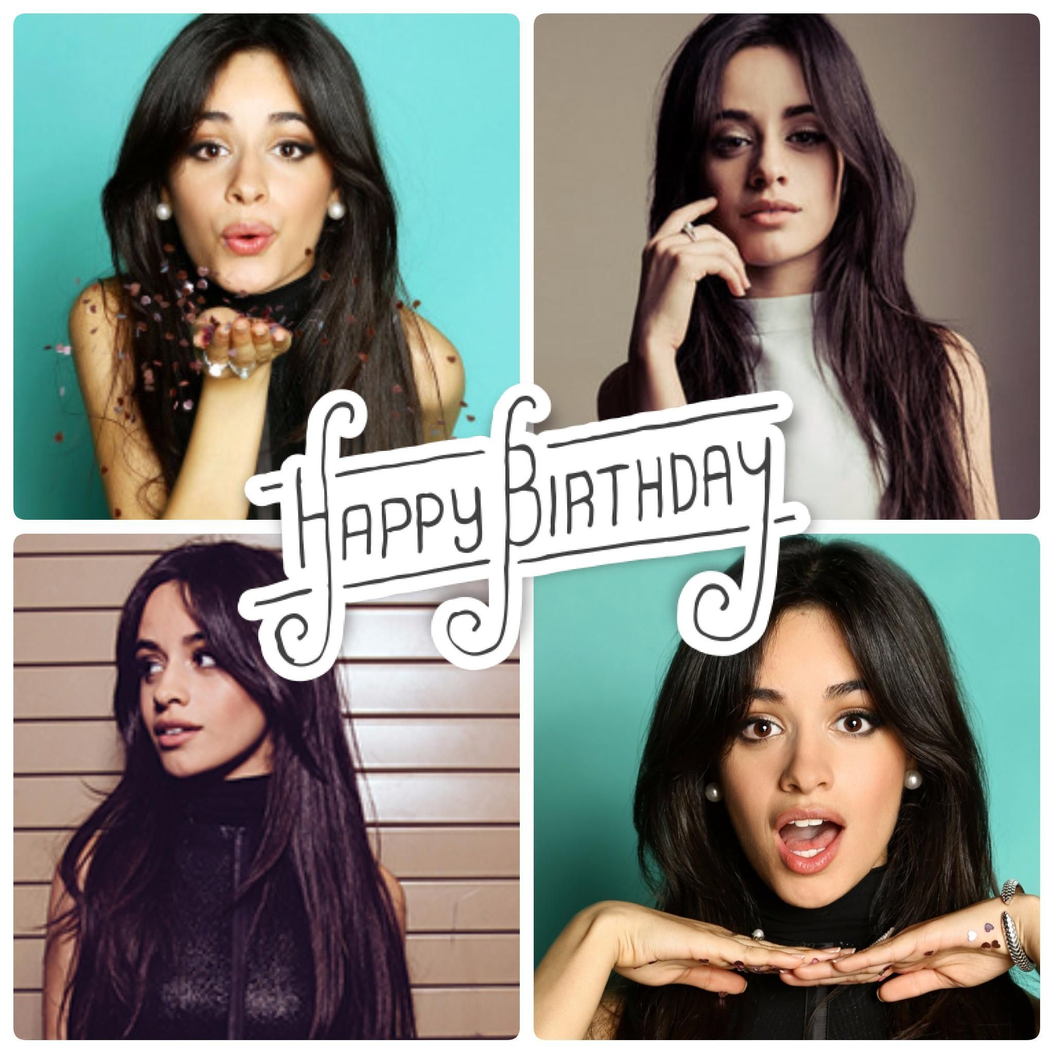 Happy Birthday to the amazing Camila Cabello :)