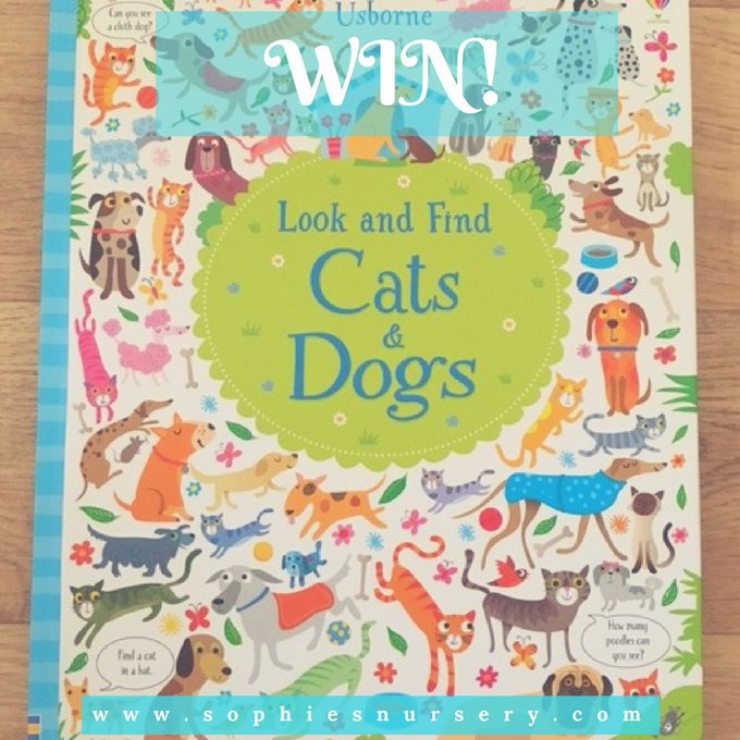 March Competition! Usborne Cats & Dogs Book
