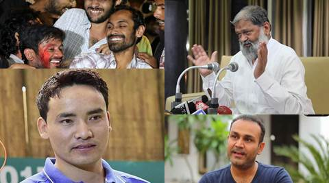 Top stories at 2 pm, March 1: Jitu Rai wins gold at ISSF World Cup, Anil Vij says Gurmehar supporters are pro-Pakistan