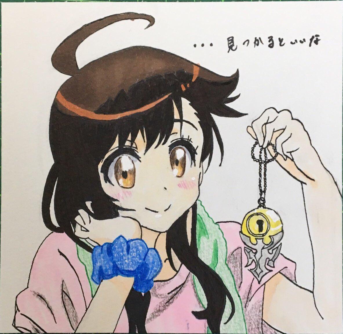 ニセコイ   小野寺 春「…見つかるといいな」#アナログ絵描きさんと繋がりたい #絵描きさんと繋がりたい #ニセコイ #