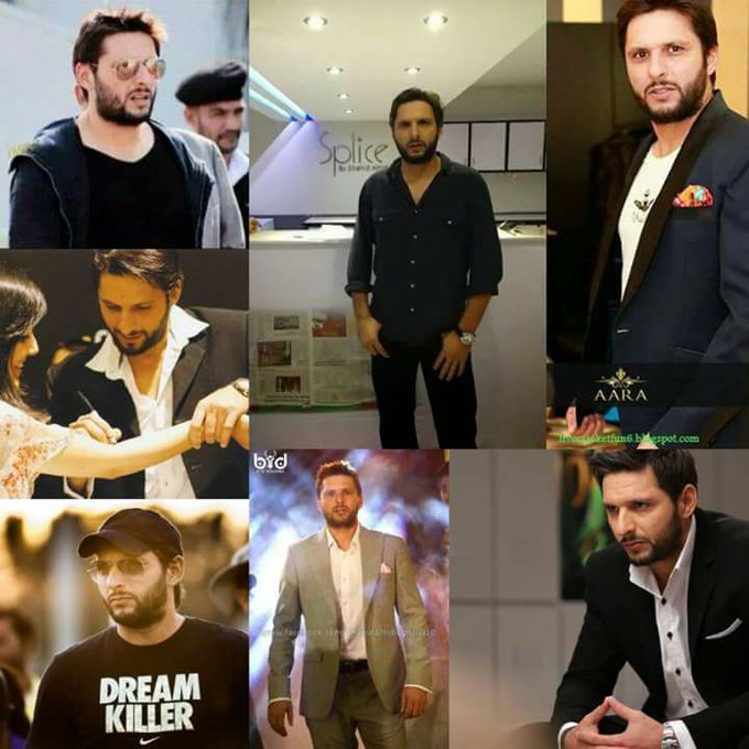 HaPpy Birthday BoOm BoOm Shahid Khan Afridi    King of Hearts King of sixes