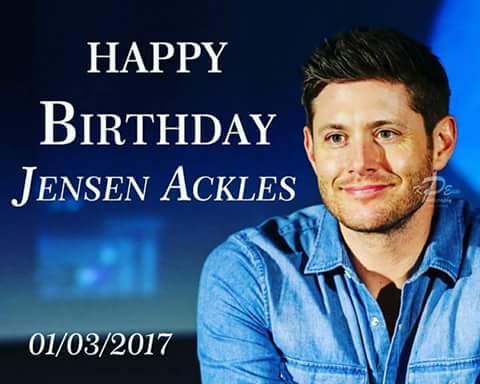 Jensen Ackless Birthday Celebration Happybday