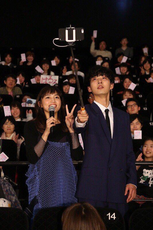 💖💖本日のお写真届きました!💙💙川口さんと上杉さんに自撮りもしていただきました✨!!自然でかわいい素敵ショット...♡.