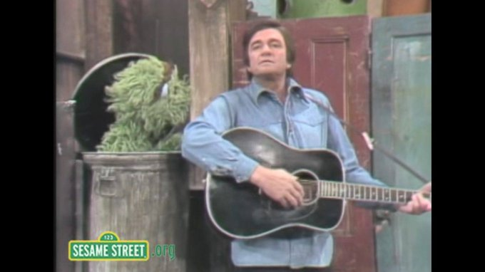 Happy Birthday Johnny Cash: Performing On Sesame Street