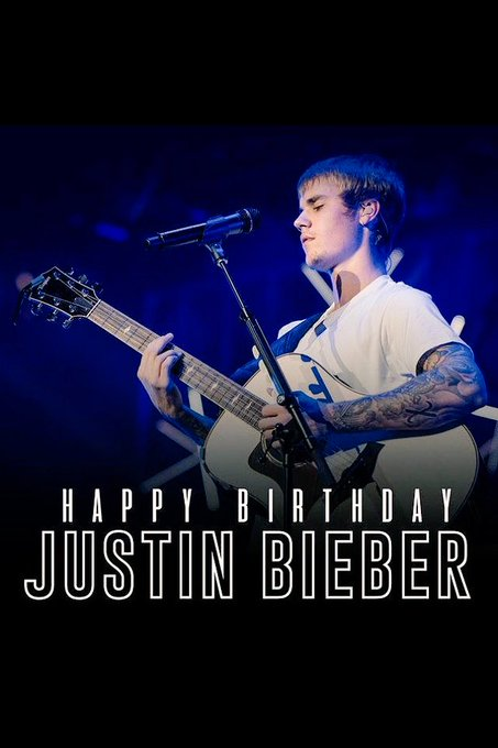 Happy birthday justin bieber I love you always I will be your believer till death
