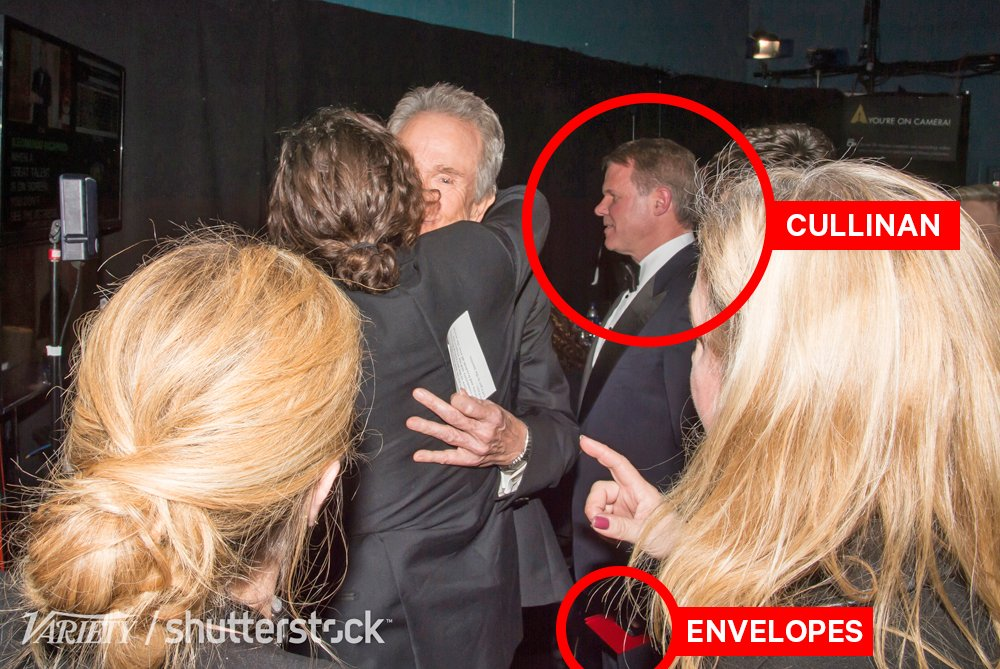 New Photos Show PWC Accountant Tweeting, Mixing Envelopes Backstage at Oscars (EXCLUSIVE)
