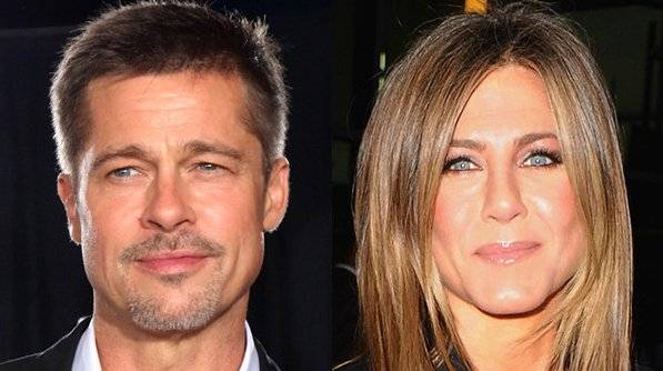 The one where Brad Pitt and Jennifer Aniston are still...friends: