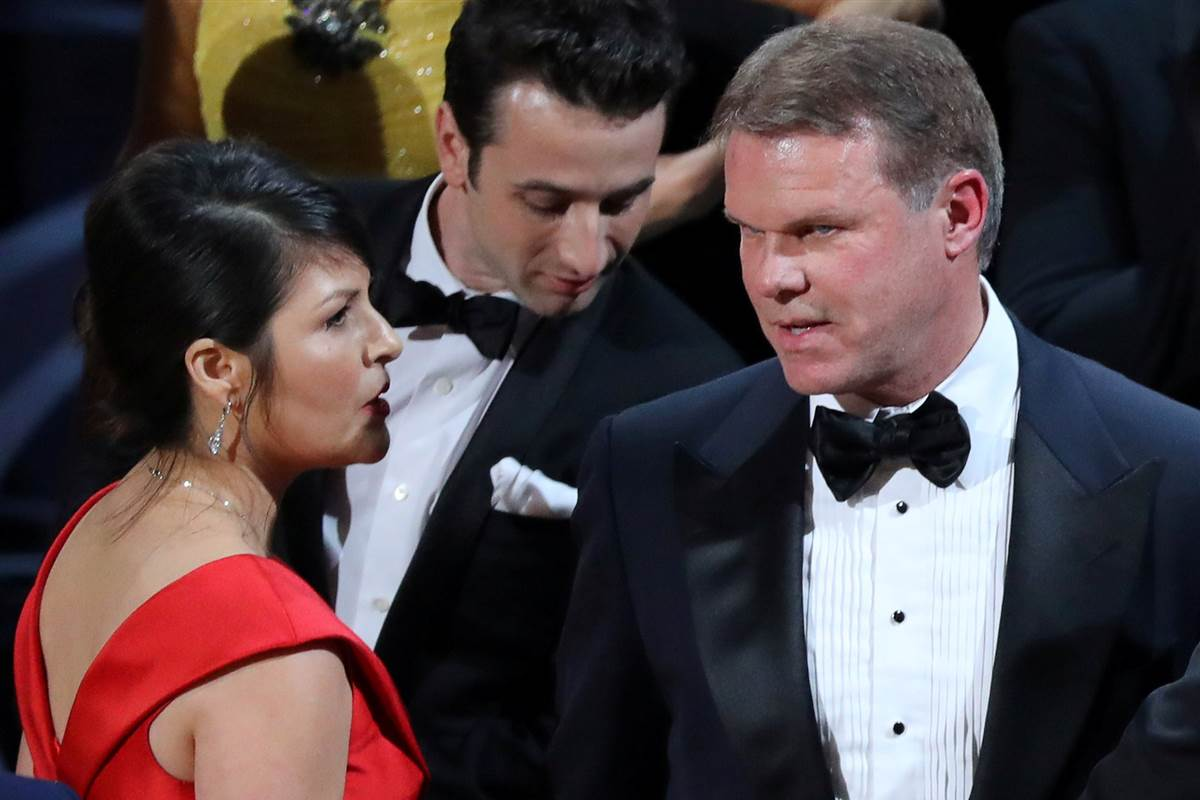 PwC accountants behind Oscars flub will never work the show again, their company says