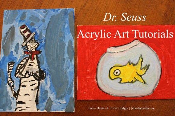 Dr. Seuss Acrylic Art - Hodgepodge https://t.co/yKHDDZN4YS #DrSeuss #YouAREanArtist https://t.co/zudKV8DBeN