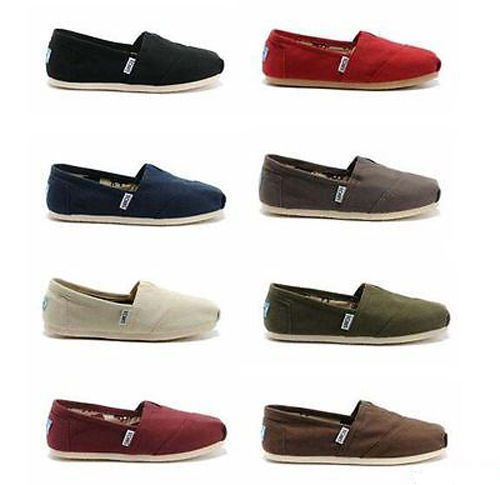 #fashion #style #giveaway New Authentic TOMS Women's Classic Canvas Slip-On Flats All Colors All Sizes #rt