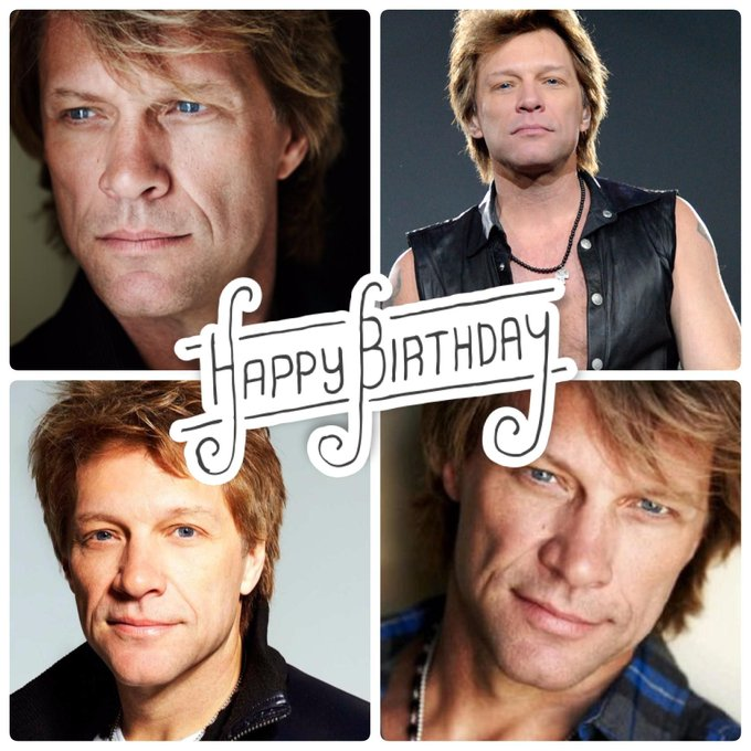Happy Birthday to Jon Bon Jovi