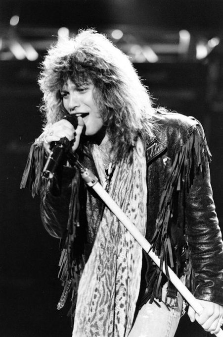 Happy birthday Jon Bon Jovi. After more than 30 years still rocking on.