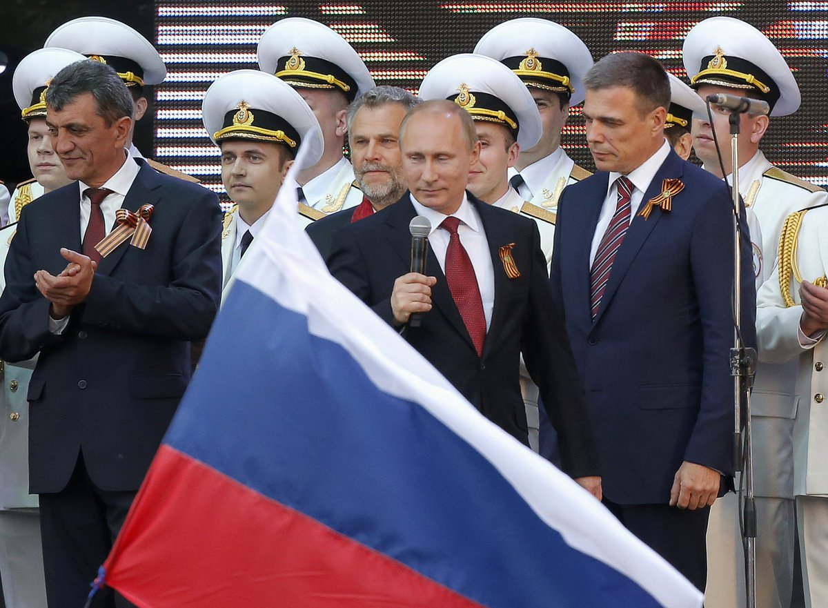 More Russians are proud of the Crimea annexation than Yury Gagarin and Dostoevsky, poll says