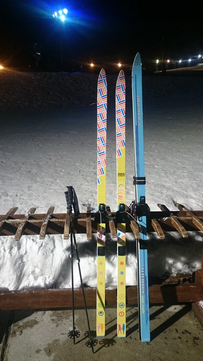 日曜の夜のみ参加です!w五竜ナイターをてさぐれ!部活もの板で滑ります月曜はどこかで滑ってます! #GJ7_5自己紹介