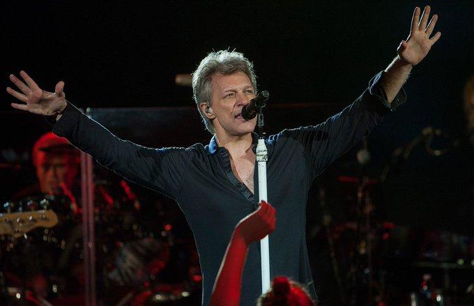 Happy 55th birthday to Jon Bon Jovi! Favorite song?  See more celeb birthdays here -