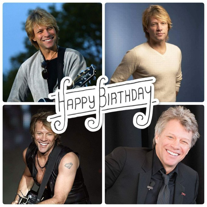 55 never looked so good!!!! Happy birthday Jon Bon Jovi!!!!
