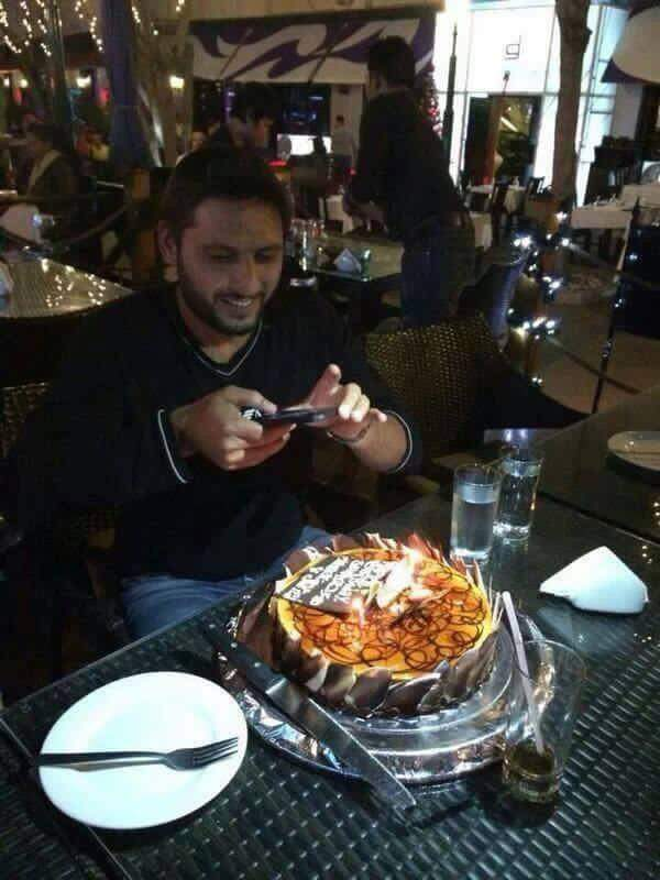 Happy birthday shahid khan afridi