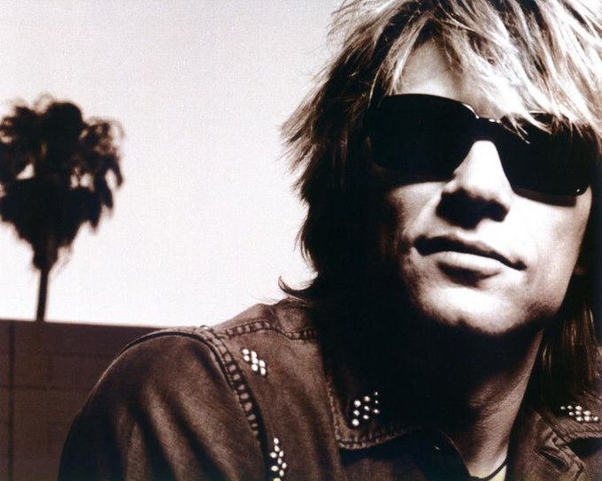 Happy Birthday Jon Bon Jovi! 55! Wow :) rocks!