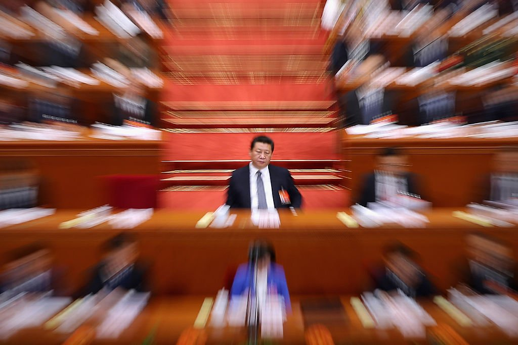 The wealth of China's richest lawmakers has grown faster than the country's economy under Xi