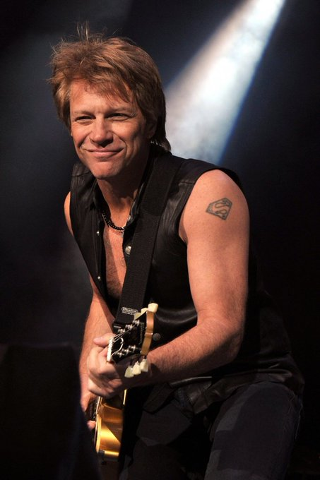 Happy 55th Birthday to Jon Bon Jovi.             ~ Born To Be My Baby