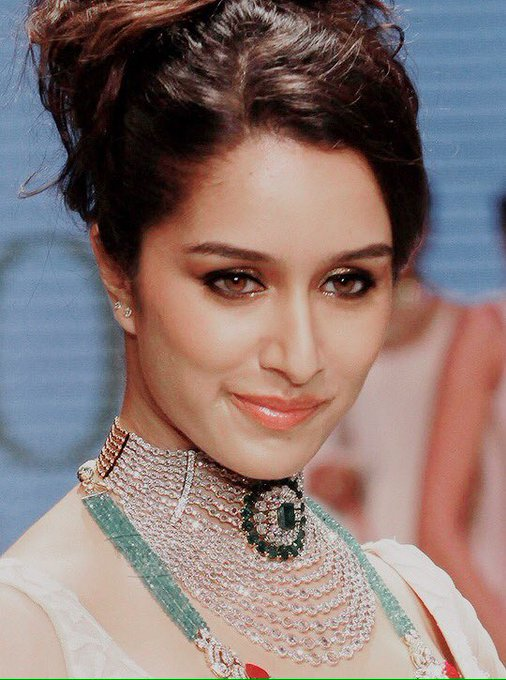 Her eyes are like deep oceans! Happy Birthday Shraddha Kapoor