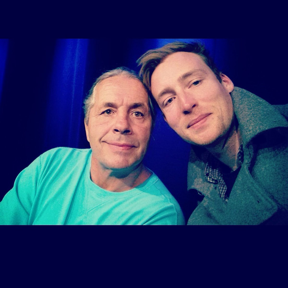 #TBThursday my first ever selfie was, a few years ago with none other than @BretHart #isWasAndEverWillBe https://t.co/tGTgFhz3H4