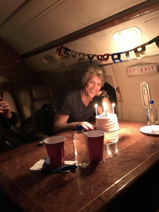 Happy birthday  Jon Bon Jovi!