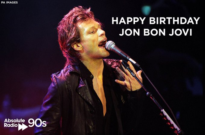Happy birthday Jon Bon Jovi - 55 today! What\s the best 90s Bon Jovi song?