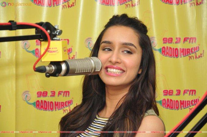 When you smile the world smile Happy Birthday Shraddha Kapoor