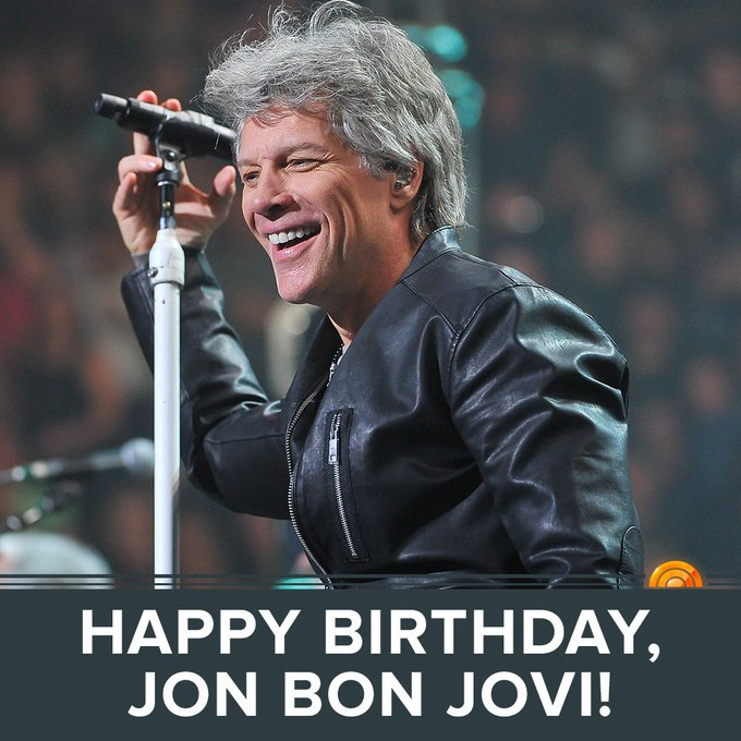 Happy 55th birthday, Jon Bon Jovi!