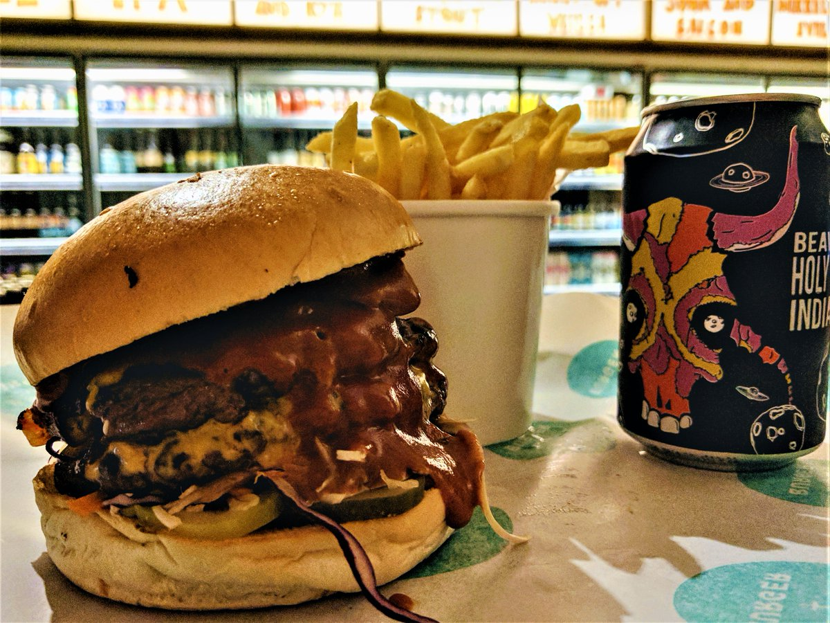 Beer + Burger Best Deliveroo options in NW