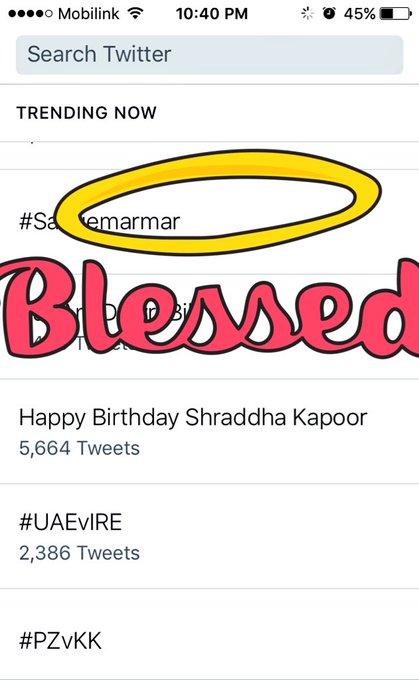 Yayyyyy    !! Happy Birthday Shraddha Kapoor