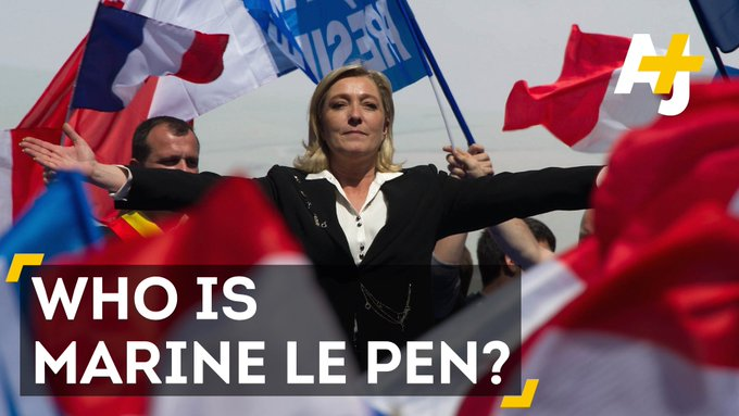As France gears up to elect its next president, here's what you should know about far-right candidate Marine Le Pen. https://t.co/xdGgHZidPD